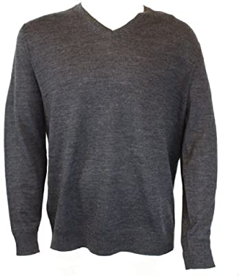 Calvin Klein Wool V-Neck Sweater