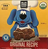 Blue Dog Bakery Organic & Low Fat Original Recipe. Peanut Butter & Molasses (4) – 24 OZ Fresh Sealed Bags (TOTAL 6 LB) For Sale