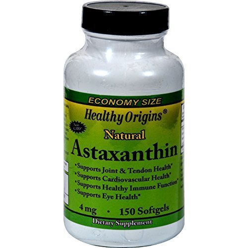 Healthy Origins Astaxathin 4 Mg 150 Sgel