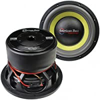 American Bass Godfather GF1222 12 400 oz Magnet 4 Voice Coil Dual 2 ohm