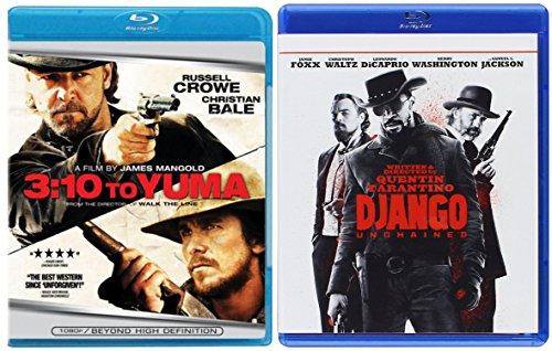 Django Unchained + 3:10 to Yuma [Blu-ray] Western Set Double Feature
