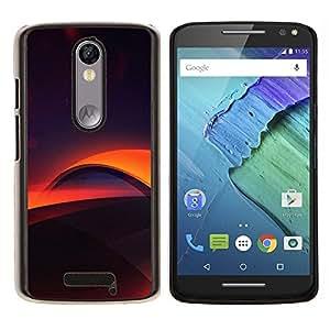 For Motorola Droid Turbo 2 / Moto X Force Case , Capas digitales- Diseño Patrón Teléfono Caso Cubierta Case Bumper Duro Protección Case Cover Funda