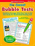 No Sweat Bubble Tests, Scholastic, Inc. Staff, 0439625742
