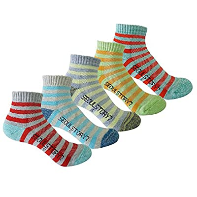 Discount 5Pack Women's Light Cushion Mini Hiking/Performance/Trail Socks hot sale