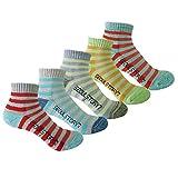 5Pack Women's Light Cushion Mini Hiking/Performance/Trail Socks