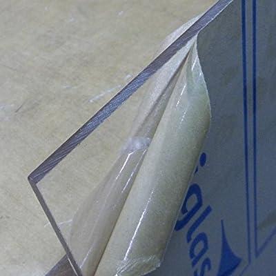 """Acrylic Cast Acrylic Clear Sheet 1/8"""" x 12"""" x 24"""""""