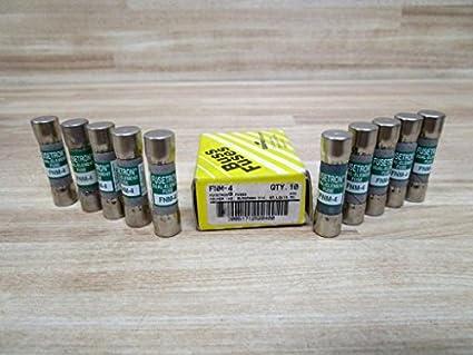 1 item s BUSSMANN LP-CC-4 LP-CC Series Time Delay 600 V 4 A /Ø 10.4 x 38.1 mm LOW-PEAK Fuse