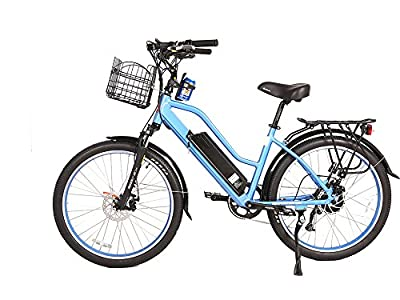 X-Treme Catalina 48 Volt High End Women's Frame Beach Cruiser | Multiple Colors Available