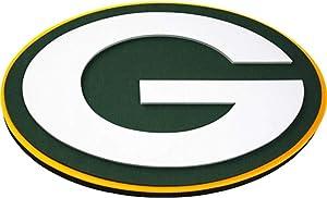 FanFave NFL Green Bay Packers 3D Foam Wall Sign Dark Green, 20