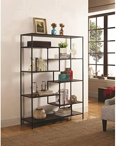 Coaster 7-Shelf Bookcase