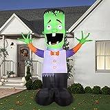 Gemmy Airblown Inflatable 12' X 9' Giant Monster Boy Halloween Decoration by Gemmy