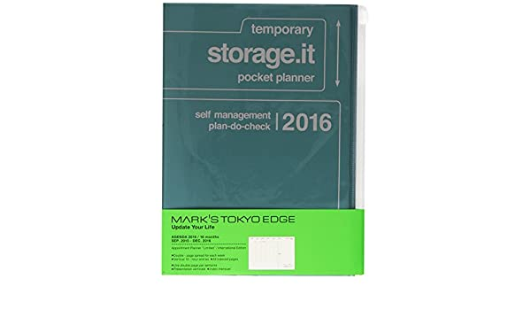 MARKS 2016 Taschenkalender A5 vertikal, Storage.it ...
