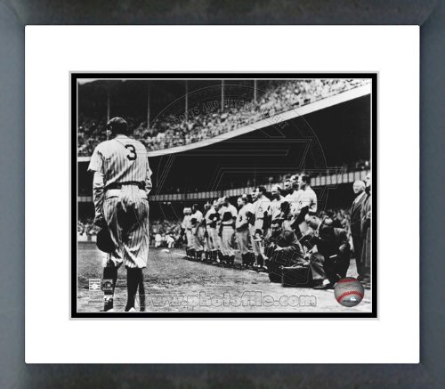 Babe Ruth Framed (Babe Ruth New York Yankees Farewell Framed Picture 8x10)