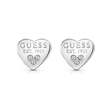 35437072c Guess UBE82082 All About Shine Crystal Heart Earrings Women Lady Jewelry  Gift: Guess: Amazon.co.uk: Jewellery