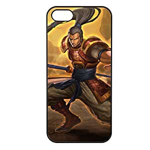XinZhao-002 League of Legends LoL case cover for Apple iPhone 5/5S - Plastic Black