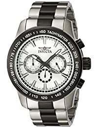 Invicta Men's 'Speedway' Quartz Stainless Steel Automatic Watch, Two Tone (Model: 21799)