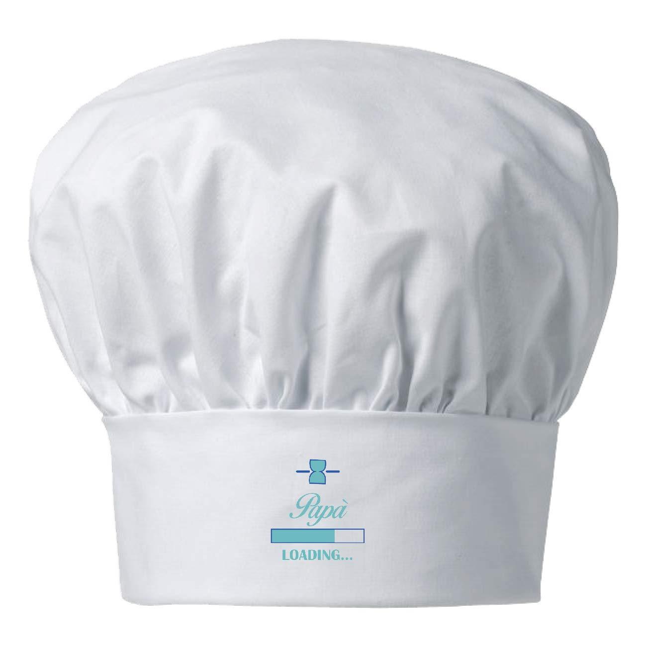 My Custom Style Cappello Chef Bianco Cotone#Festa del pap/à Albero#