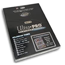Ultra Pro 15-Pocket Platinum Page for Tobacco Cards 100 ct.