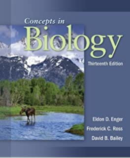 Amazon Com Concepts In Biology 9780073403465 Eldon Enger
