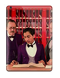 Ultra Slim Fit Hard Leighton Van Ness Case Cover Specially Made For Ipad Air- The Grand Budapest Hotel