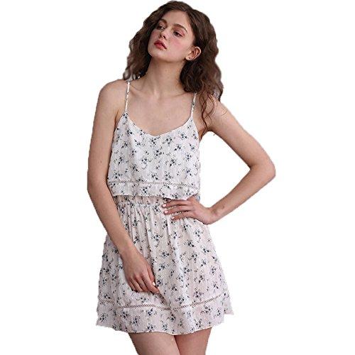 estate abito donne Sexy Sling v a bretella Abito notte da ragazze dolci scollo di 8qAxqO7wg