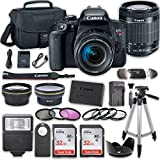 Canon EOS Rebel T7i DSLR Camera Bundle with Canon EF-S 18-55mm f/4-5.6 IS