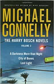 amazoncom the harry bosch novels volume 3 a darkness