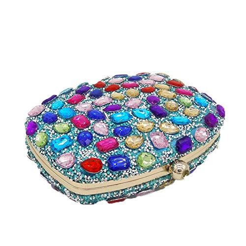 Crystal Evening Women's Handbags Evening Color Multicolor for Clutch Occasion Evening Purse Purple amp; Bag Special Wedding Handbag Party Clutches Multicolor Jxth Clutch Bags Purse Clubs pw0Z5aqa