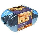Bagel Fresh Container - 6 Fresh Bagel Keeper