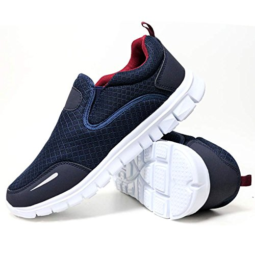 Mens Legacy Air Bubble Max 90 Running Trainers Airtech Fitness Sports Gym Shoes Size 7 8 9 10 11 12 Navy PnaKxKk