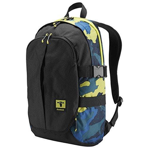 Reebok Motion Laptop Backpack, Rucksack mit geräumigen Hauptfach & Frontfach mit wasserfesten Reißverschluß, Robustes Material aus 100% Polyester, Verstellbarer, gepolsterter Trageriemen, Maße ca 48x3