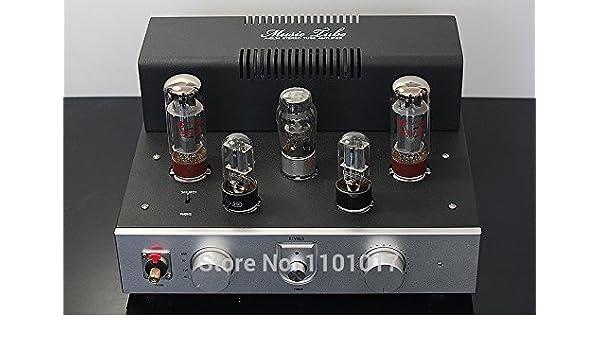 MU Rivals amplificadores de válvulas EL34 TOP HIFI Exquis Andamios hecho a mano con salida de auriculares Versión amplificador de Lujo: Amazon.es: ...