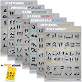 """7 Exercise & Fitness Posters 