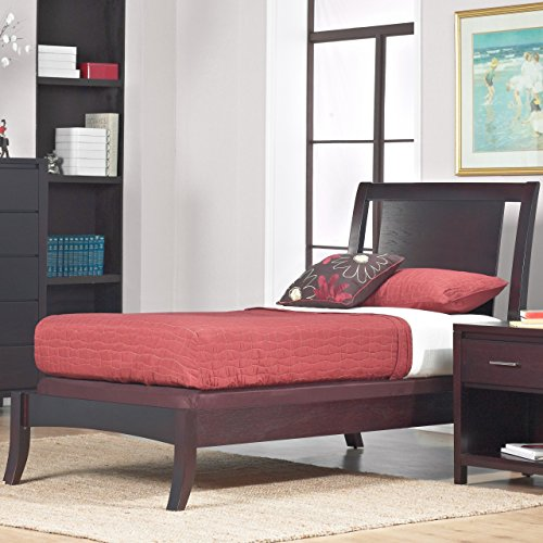Floating Bed Panel (Domusindo Floating Panel Twin-size Sleigh Bed)