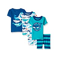 Baby Boys' 5-Piece Cotton Snug-Fit Pajamas