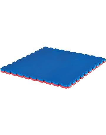 Suelo Tatami Puzzle 2 cms. 1 m. x 1 m. (reversible rojo