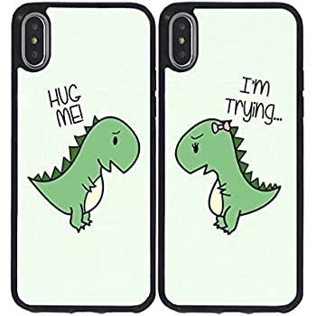 Amazon Com Iphone X Bff Case For Him Cute Best Friends Things For