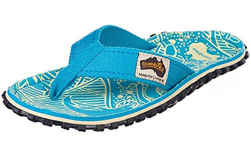 Flops Islander Unisex Flip Canvas Red Gumbies Manly Turquoise wqIgfFOO