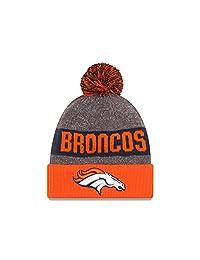 Denver Broncos New Era 2016 NFL Official Sideline Sport Knit Hat - Size One-Size