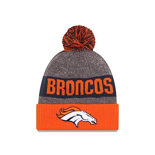 New Era Cap Co,. Inc. Men's 11289188, Orange, One Size fits (Nfl Football Beanie Caps)