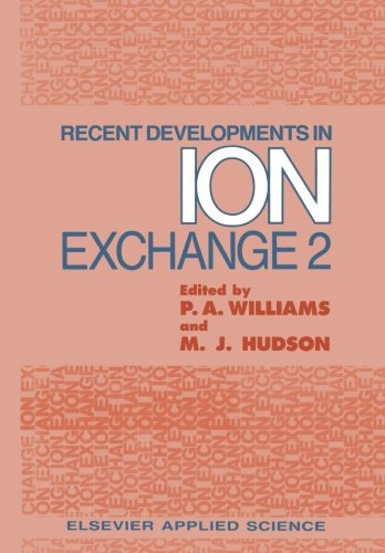 Recent Developments in Ion Exchange: - Adsorption Media Phosphate