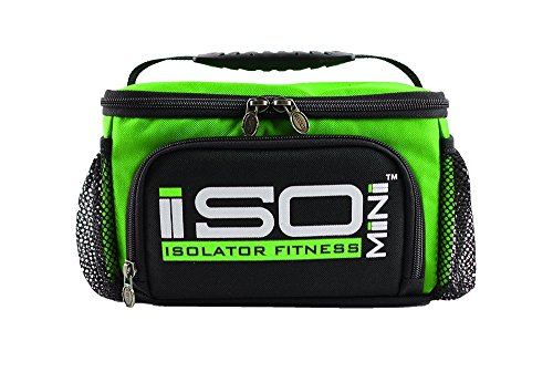 IsoMini Lime Green/Black - Key Lime Container