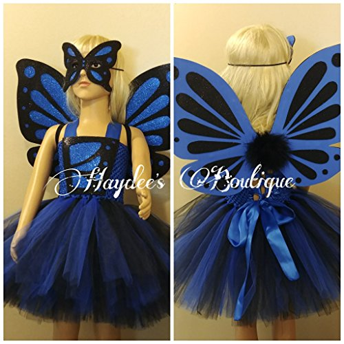 Butterfly Girl Tutu Dress Set by Haydee's Boutique