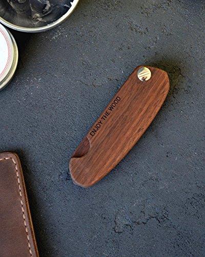 Man Hair Beard Wooden Engraved Comb Custom Boyfriend Husband Gift Mustache Birthday Man Gift