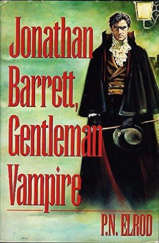 book cover of Jonathan Barrett, Gentleman Vampire