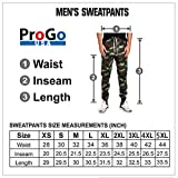 ProGo Men's Casual Jogger Sweatpants Basic Fleece
