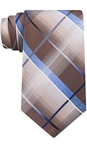Van Heusen Men's Patterned Necktie Tie (Taupe) ()