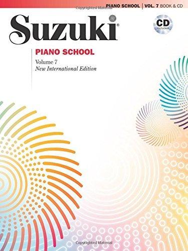 07 Music Book - Suzuki Piano School, Vol 7: Book & CD by Seizo Azuma (2010-07-01)