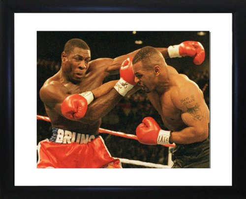 Mike Tyson And Frank Bruno Framed Photo
