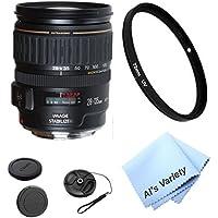 Canon EF-S 28-135mm f/3.5-5.6 IS USM Zoom Lens Bundle (White Box)- International Model